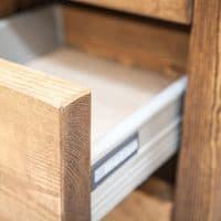 Derwent Solid Wood Desk with 6 Drawers